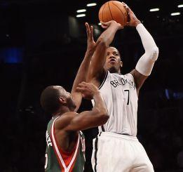 Joe Johnson le da el triunfo a los Nets sobre los Bucks
