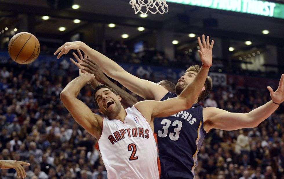 Los Grizzlies de Marc Gasol cortan la racha de los Raptors