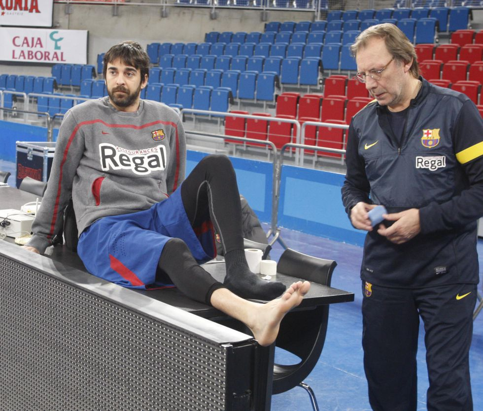 "Navarro volverá ante el Khimki, ""rival muy difícil"" según Pascual"