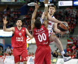 El Caja Laboral pierde ante el CSKA y dice adiós a la Final Four