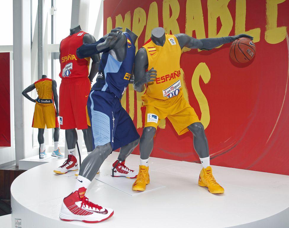 ab15b6ed11a Nuevas equipaciones de la Selección Española de Baloncesto. - AS.com