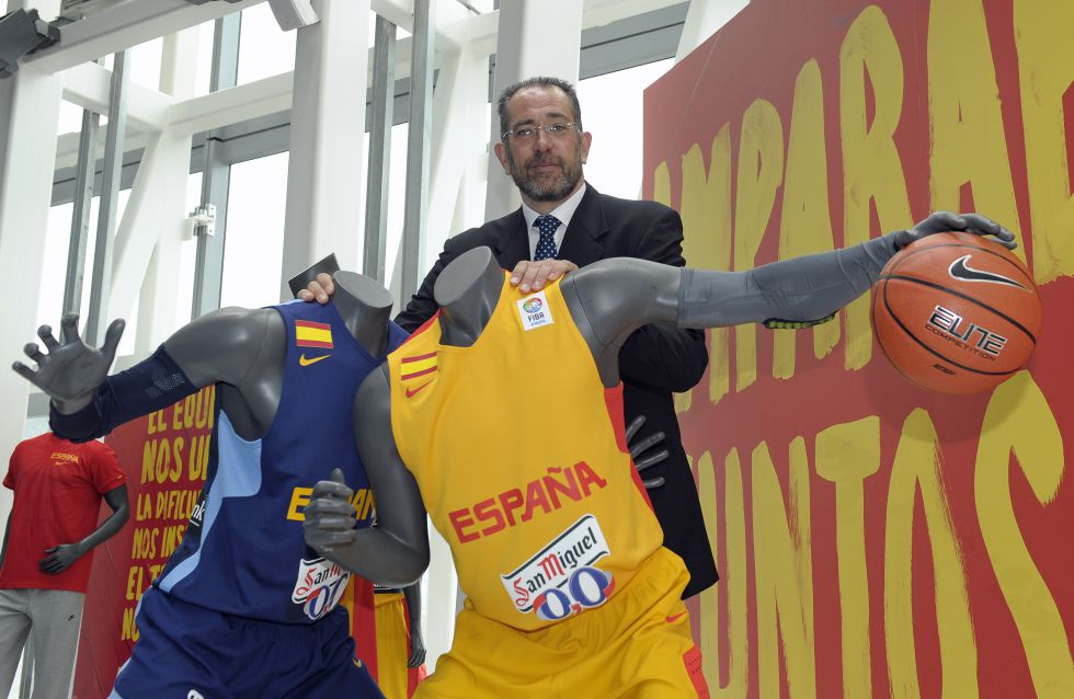 La FEB presentó la nueva vestimenta Nike de la Selección