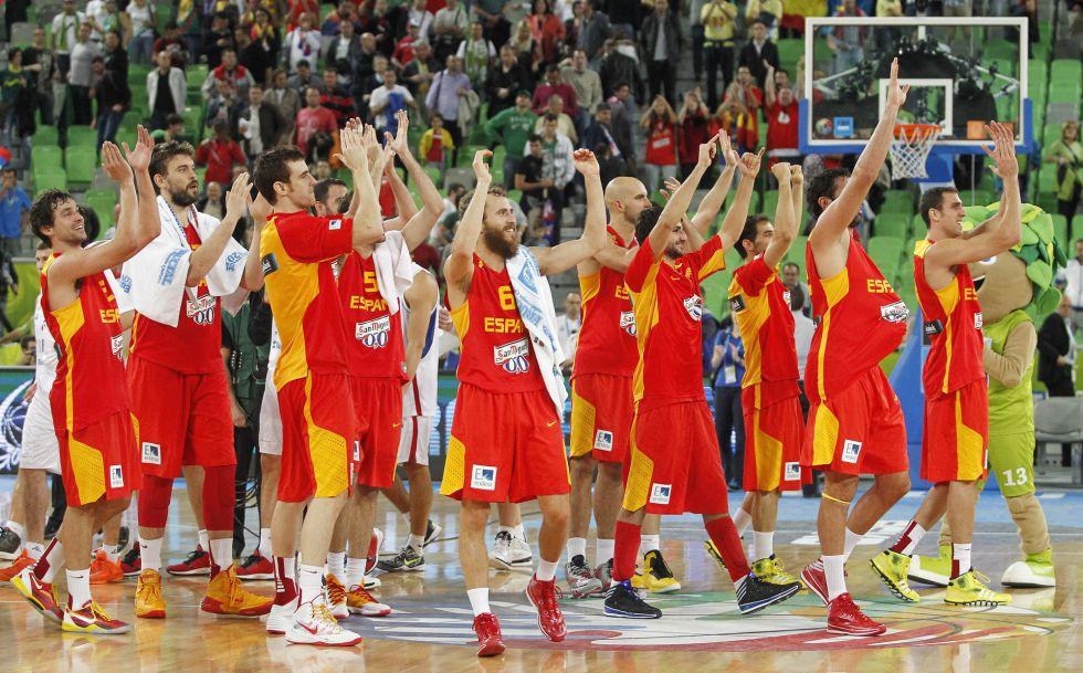 1,5 millones de telespectadores vieron el triunfo de España