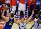 Los Warriors sorprenden a los Clippers de un errático Paul