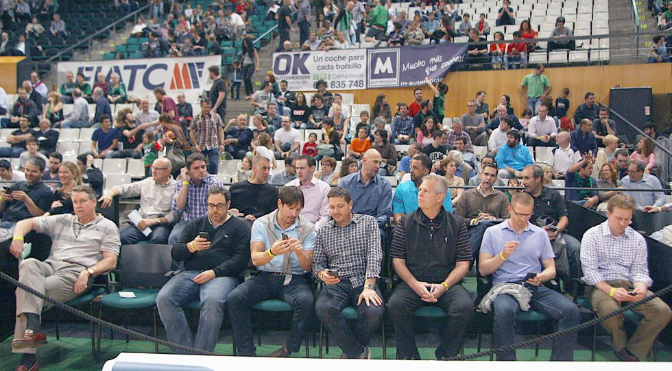Hubo diez franquicias de la NBA el domingo en Badalona