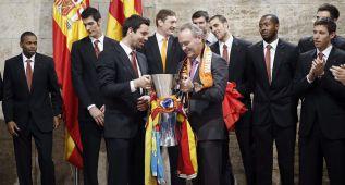 Valencia homenajea a los campeones de la Eurocup