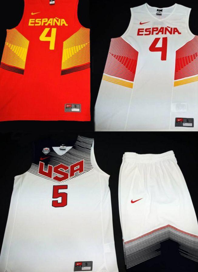 17dd0ab460c8f Filtran las camisetas de España y Estados Unidos para el Mundial ...