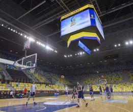 España exhibe el lujoso Gran Canaria Arena otra vez sin TV
