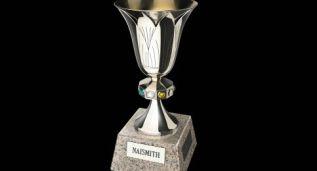 La copa que corona al campeón: una joya de nueve kilos