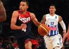 Curry lideró una nueva exhibición de Estados Unidos