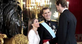 El Rey Felipe VI animó a la Selección ante Argentina