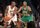 Kobe Bryant estudia a Paul Pierce para mejorar su juego