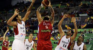 Serbia se pasea ante Egipto, próximo rival de España