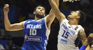 Grecia se asienta en el liderato después de ganar a Filipinas