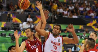 La Irán de Haddadi le aguanta dos cuartos a Serbia