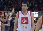 El CAI se refuerza con el regreso de Giorgi Shermadini