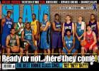 Los 'rookies' 2014 repiten la portada de SLAM del 96