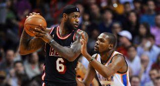LeBron, Durant y Paul, Top-3 de la NBA para 'Sports Illustrated'