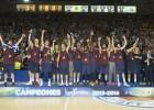 El Barcelona, favorito al título para los entrenadores ACB