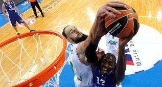 Las mejores imágenes de la primera jornada de la Euroliga
