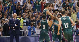 Delirio en Málaga tras un triple de Vasileiadis sobre la bocina