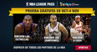 El League Pass de la NBA, gratis hasta el 4 de noviembre