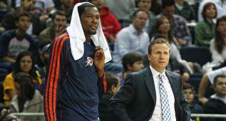 Brooks se desespera: Morrow, el sustituto de Durant, lesionado