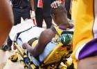 Terrible: Randle se fractura la tibia y dice adiós a la temporada