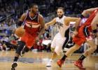 Wall se desmelena y hace ganar a los Wizards en Orlando