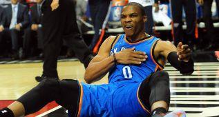 Los Playoffs, ¿en peligro para Westbrook y Kevin Durant?
