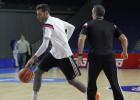 Rudy Fernández viaja a Sevilla, aunque en principio no jugará