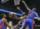 Los Hawks no ceden y dejan a los Pistons en el pozo del Este
