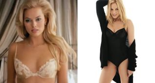 Margot Robbie y Abbie Cornish: las musas del Madison Square Garden