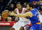 'Melo' se lesiona en otra derrota de los Knicks de Calderón