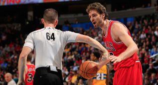 Gasol luce su fiabilidad, pero los Bulls caen y Rose se resiente
