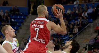 Spanoulis, cuarto jugador en anotar más de 2.500 puntos