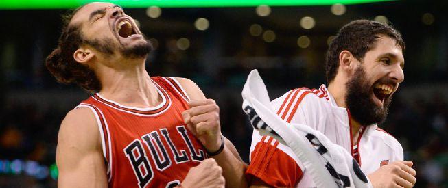 Noah, Gasol y Mirotic echan el cerrojo y ganan los Bulls