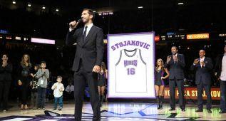 Los Kings retiran la camiseta de Peja Stojakovic: eterno 16
