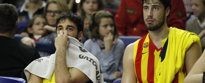 Navarro se rompe y el Barça tiene problemas de cupo