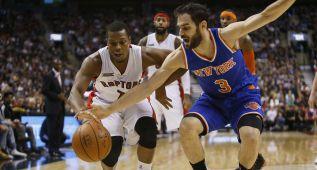 Carmelo despunta, pero sus Knicks siguen en caída libre