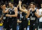 El Madrid lidera el Top-16 en valoración, robos y asistencias