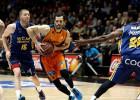 El Valencia gana sin Perasovic ante un peleón UCAM Murcia