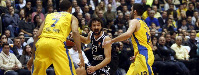 El Madrid vuelve a estrellarse contra la energía del Maccabi