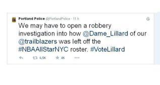 La ausencia de Lillard 'enfada' a la policía de Portland