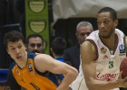 Una canasta de Marcus Brown apaga la euforia en Valencia