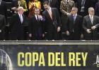 El sector de la afición del Barça pitó el himno español