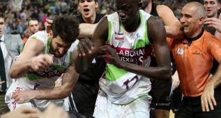La ACB condena la pelea de Bilbao y habrá duras sanciones