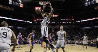 Los Lakers, destronados: mejor récord histórico para los Spurs