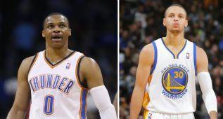 Ránking de bases NBA, según ESPN: ¿Westbrook o Curry?