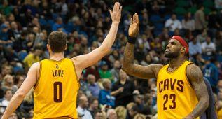 A LeBron le da igual que Love prefiera a Westbrook de MVP
